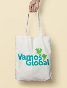 vamos global tote branding