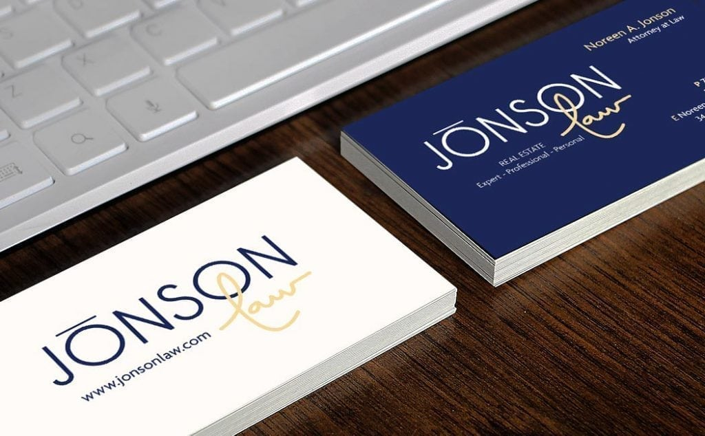 Jonson Law Business Cards