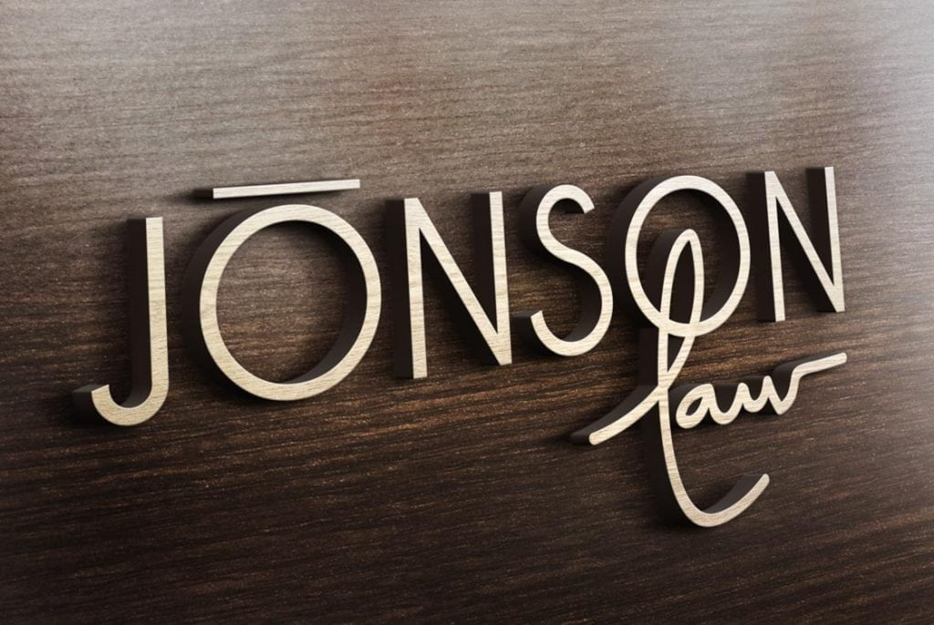 Jonson Law Logo Design