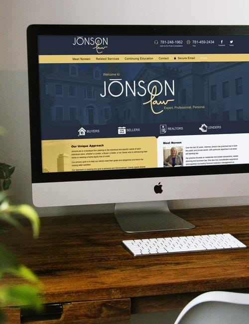 Jonson Law Responsive Website Design