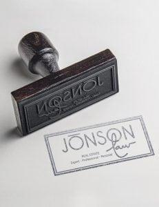 Jonson Law Stamp