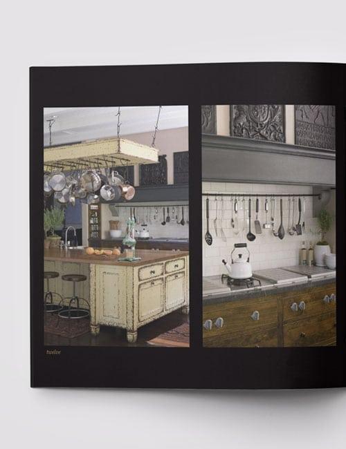 dalia kitchen design retail brochure design peartree