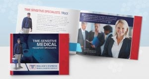 Millers Express Brochure Trifold