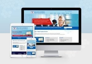 Millers Express Responsive Website Design
