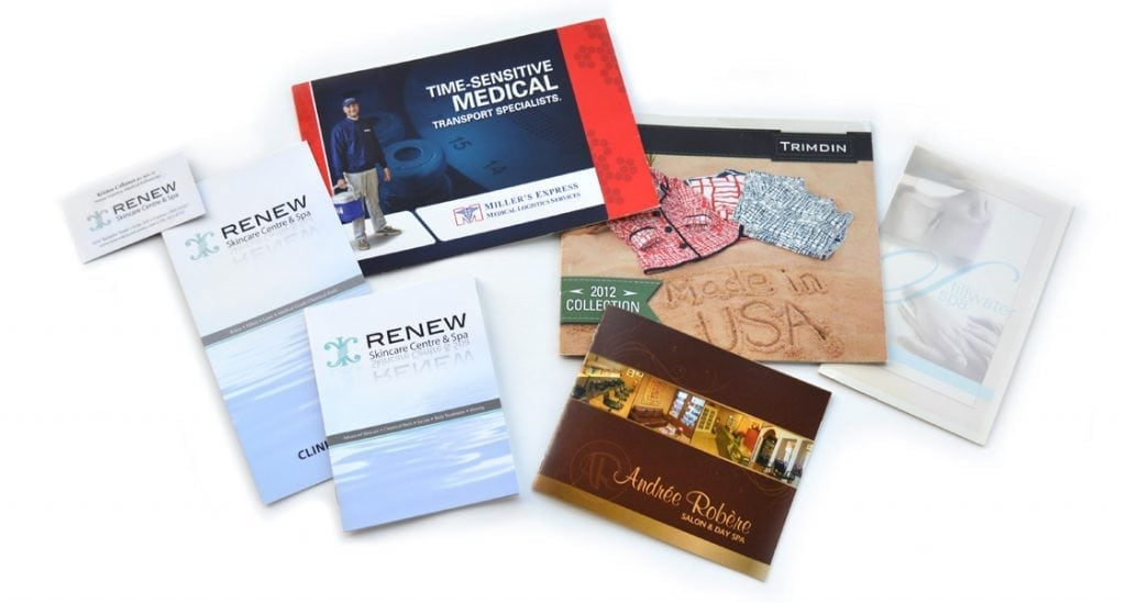 Image of Professional Graphic Design Print Samples