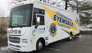 lion club eye mobile