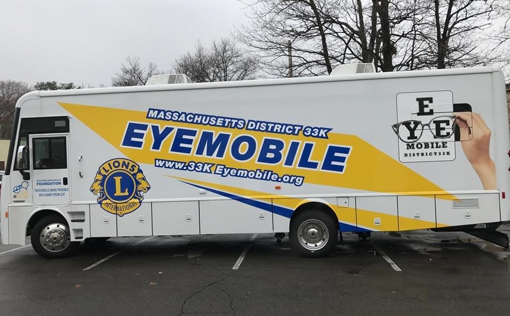 lion club eye mobile