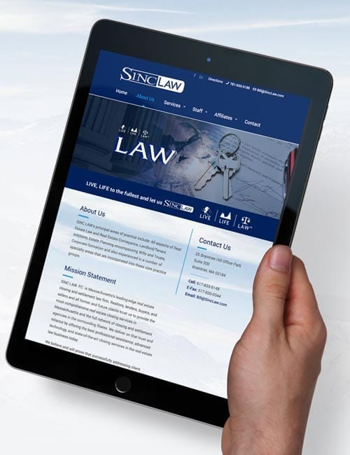 sinc law responsive website-design