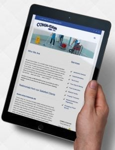 commclean.com responsive website design
