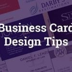 "Business Card Design Tips & Get Your Free Business Card Design ""Report Card"""