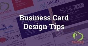 Business card graphic design tips