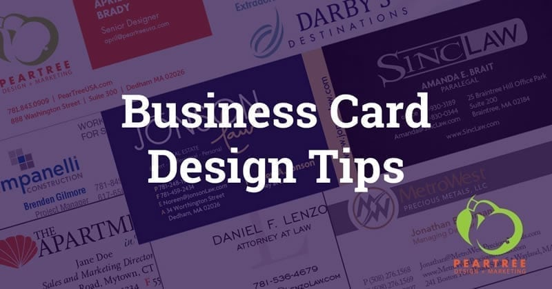 Our top tips for creating a great business card business card design tips get your free business card design report card reheart Choice Image