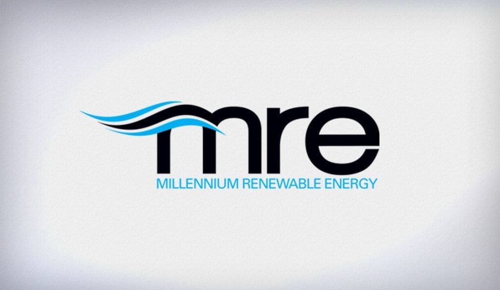 Logo Design for renewable engery company.Custom logo design for wind-energy company