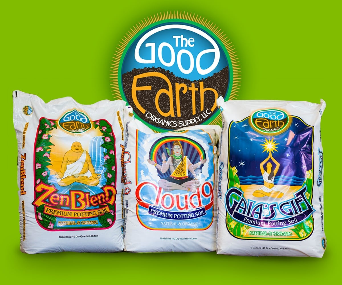 Good Earth Organics Soil Packagbe design