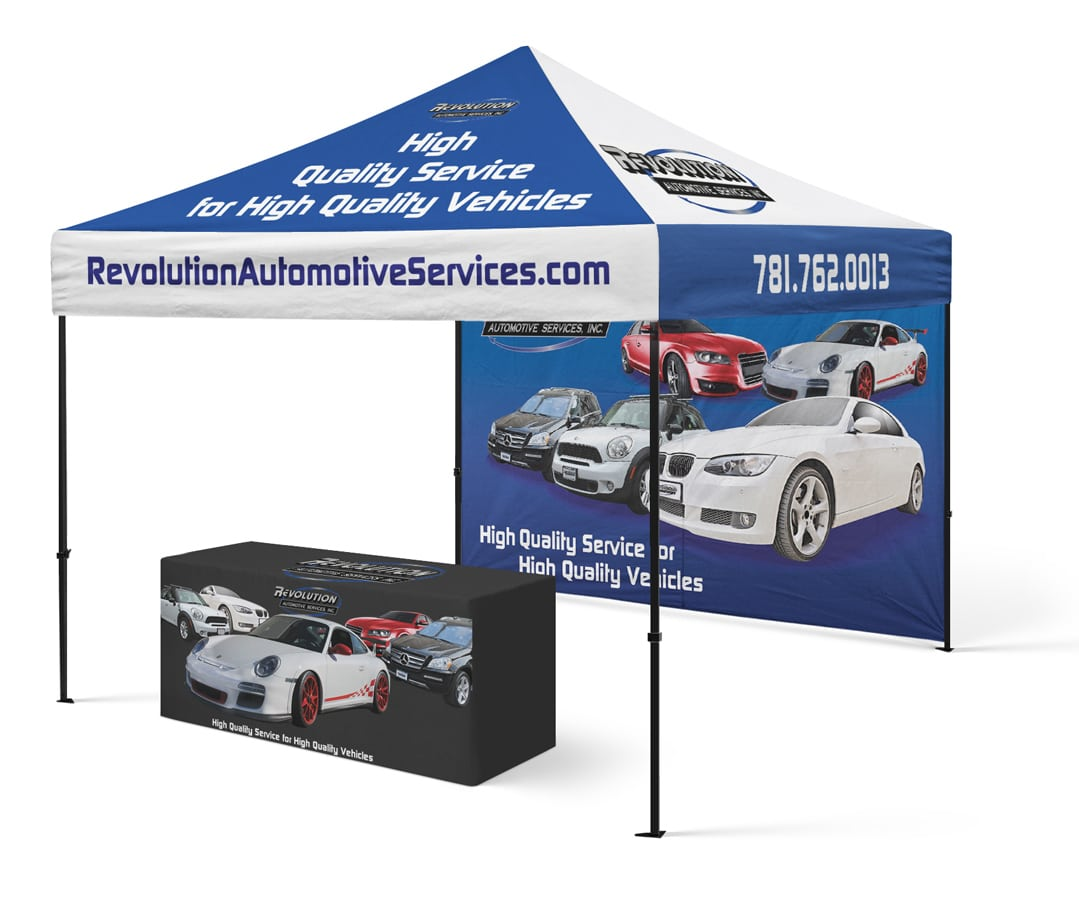 Revolution Automotive Tradeshow booth Design