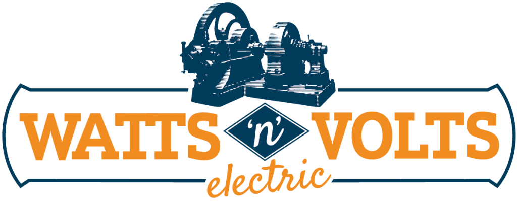 Watts n Volts Electric Logo Design